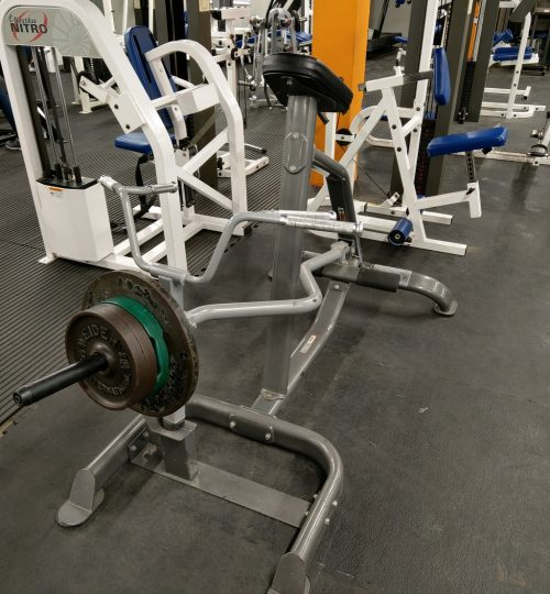 Olympian Gym Chest Supported TBar Row