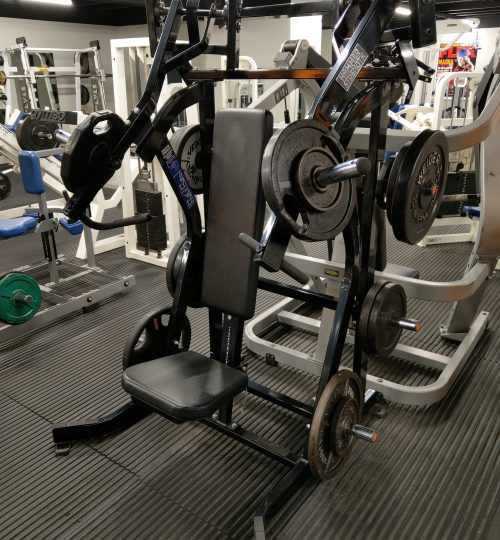 Olympian Gym Iso Lateral Incline Press