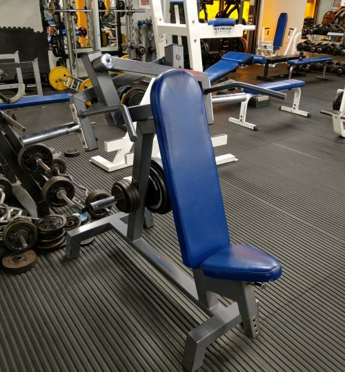 Olympian Gym Plate Loaded Shoulder Press
