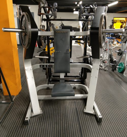 Olympian Gym Plate Loaded Vertical Press
